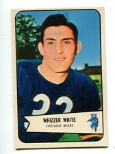 Whizzer White 1954 Bowman #125 Chicago Bears Ex/MT 30490