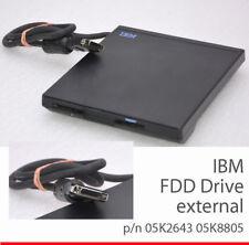 EXTERNES+ INTERN FDD FLOPPY DRIVE DISKETTENLAUFWERK IBM THINKPAD 600 770 85K8874