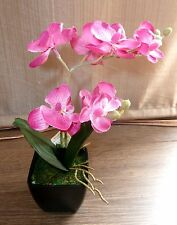 Orchidee getopft ca.30 cm rosa Kunstblumen -Seidenblumen