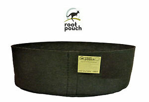 Grand Root Pouch noir (946L-250Gallon) Géotextile Smart grow Pot container