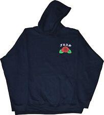 """FRLS hoodie """"hasta la muerte"""" Black Large  streetwear rose skeleton"""