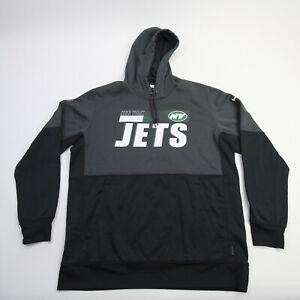 New York Jets Nike Dri-Fit Sweatshirt Men's Dark Gray/Black Used