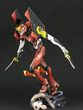 EVA -02 Invidia Evangelion Unpainted Statue Figure Model Resin Kit RARE