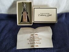 """""""Reed & Barton"""" Silverplate 1979 Father's Day Bell;signed;Adolfo Procopio"""