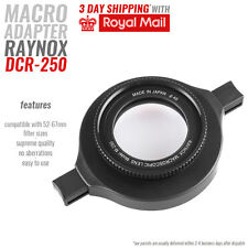 Raynox DCR-250 Macro for Sony A7 A7R A7s A7RII A7II A6000 A5000 52-67mm size