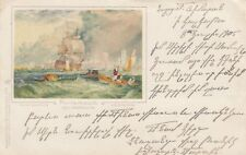 "Hampshire Postcard. Painting ""Portsmouth""  J.M.W Turner R.A. Undivided! 1905"