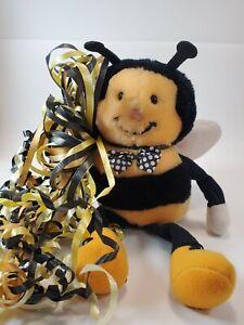 Vtg Dakin Bee's Knees Bumble Bee Plush Nature Babies 1986 Stuffed Animal w/ Tag