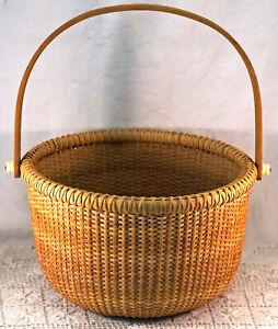 Very Nice Woven Nantucket Basket