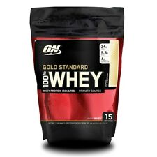 Optimum Nutrition Gold Standard 100% Whey Protein Powder, 1 lb VANILLA ICE CREAM