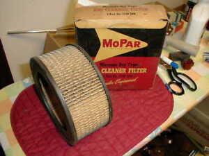 NOS MOPAR 1957-8 AIR FILTER SAVOY CORONET FIRE SWEEP