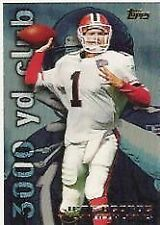 Jeff George Falcons 1995 Topps #3000 Yard Club  #36