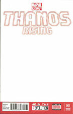 Thanos Rising  #1  Blank  Variant  Cover   Marvel Now