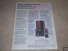 Infinity Quantum Reference Series 5 Speaker Ad