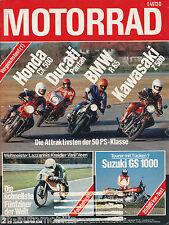 Motorrad 2 80 BMW R65 Ducati Pantah Honda CX500 Kawasaki Z500 Bullet India 1980