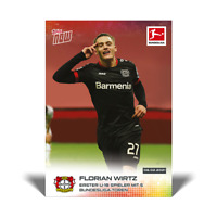 Topps Now Bundesliga 2020-21 - Card 123 - Florian Wirtz - Bayer Leverkusen