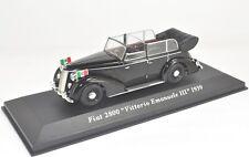 "FIAT 2800 ""VITTORIO EMANUELE III"" 1939 1:43 IXO ALTAYA Die Cast Model Car"