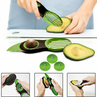 3 IN 1 AVOCADO MELON FRUIT CORER SEEDER SLICER CUTTER PEELER SMART KITCHEN TOOL