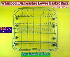 Whirlpool/Delonghi Dishwasher Spare Parts Lower Rack Basket - Brand New (Grey)