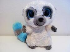 "Rare Ty Beanie Boos Plush Soft Toy Doll Cleo The Cream Lemur Bush Baby 2009 6"""