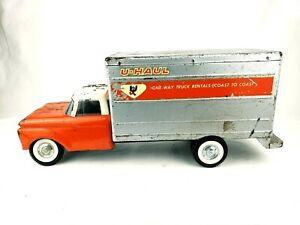 Vintage Nylint Ford U-Haul Box Truck Pressed Metal, Front Suspension