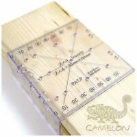RAKUDA Square Ruler for 2 x 4 Wood Carpentry Tool Scale Made in Japan