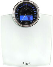 Digital Bathroom Scale Electro-Mechanical Weight Dial and 50 g Sensor Technology