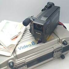 Sony Video Camera Recorder CCD-M8E Video8 + 4 Batteries, no charger in Org case