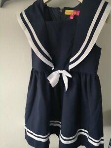 Sailor Dress Girls Age 7