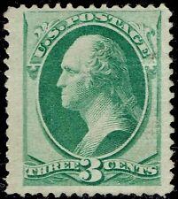 "US Sc# 136 *UNUSED LH* { ""JUMBO 3c ""GRILL WASHINGTON } NATIONAL BANKNOTE OF 1870"