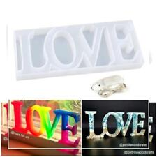 LET'S RESIN Love Sign Mold, Resin Word Epoxy Molds for DIY