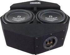 Sistema audio SUBFRAME r10 FLAT Active - 2 25cm chassis SUBWOOFER + monoendstufe