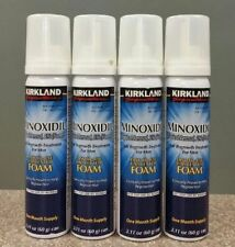 Kirkland Signature 5% Minoxidil Foam Aerosol Hair Regrowth Men 4 Months Supply