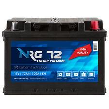 NRG Autobatterie 12V 72Ah 700A/EN ersetzt 68AH 70AH 74AH 75AH 77AH 80AH