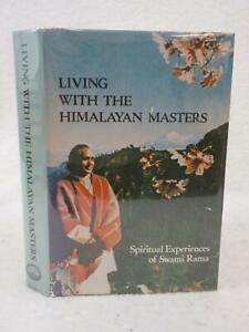 Swami Rama LIVING WITH THE HIMALAYAN MASTERS 1978 H. I. I. of Yoga Science, PA