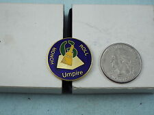 HONOR ROLL UMPIRE PIN