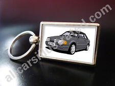 FORD ESCORT RS TURBO S2 (90 SPEC) METAL KEY RING. CHOOSE YOUR CAR COLOUR.