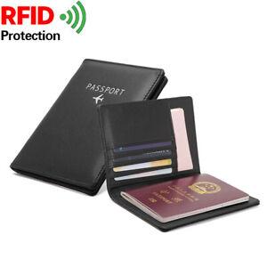 Passport Holder / Cover Reisepass Hülle NEU pink oder schwarz TOP /  RFID Schutz
