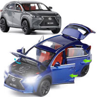 Lexus NX200T SUV 1:32 Diecast Model Car Toy Collection Pullback Sound&Light Gift