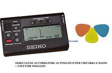 Accordatore Seiko Sat-101 per Chitarra e basso - SOTTOCOSTO