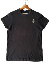 """Mens T-Shirt Abercrombie Fitch Size S Muscle Grey Fade Casual A&F Logo Plain 40"""""""