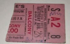 My Bee Gee'S Rare Concert Ticket Stub Nashville,Tn. August 28,1971 * Make Offer*