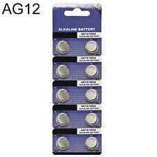 10x AG12 LR43 386 LR1142 1.5V Alkaline Button Coin Cells Watch Battery Gracious