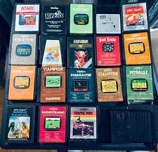 Atari 2600 Cartridges - Lot 21 of Pre-Owned · Not Tested, Flash Gordon, Rampage