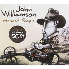 JOHN WILLIAMSON HONEST PEOPLE DIGIPAK CD NEW