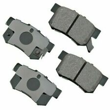 GNAD536  Rear Ceramic Brake Pads with brake hardware GOLD series wearever