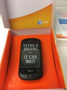 LG QUANTUM. LG-C900. AT&T Unlocked Windows Mobile Phone. Brand New. Never Used.