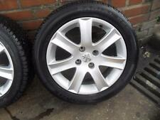 "PEUGEOT 207 / SW  SPA SILVER 16"" ALLOY WHEEL SINGLE 195 / 55 / R16"