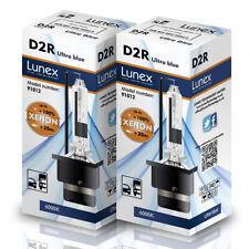 D2R LUNEX XENON HID AMPOULE LAMPS compatible avec Osram Philips 6000K Twin Pack