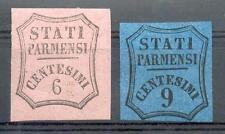 ITAL Parma 1853 z1-2 * Giornale marchi € 900 (e0075