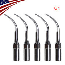 5* Autoclave Dental Ultrasonic Scaler Tip G1 Fit EMS Woodpecker Handpiece YS#GO
